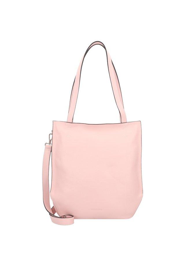 MELFI SCHULTERTASCHE LEDER 33 CM - Handbag - rose