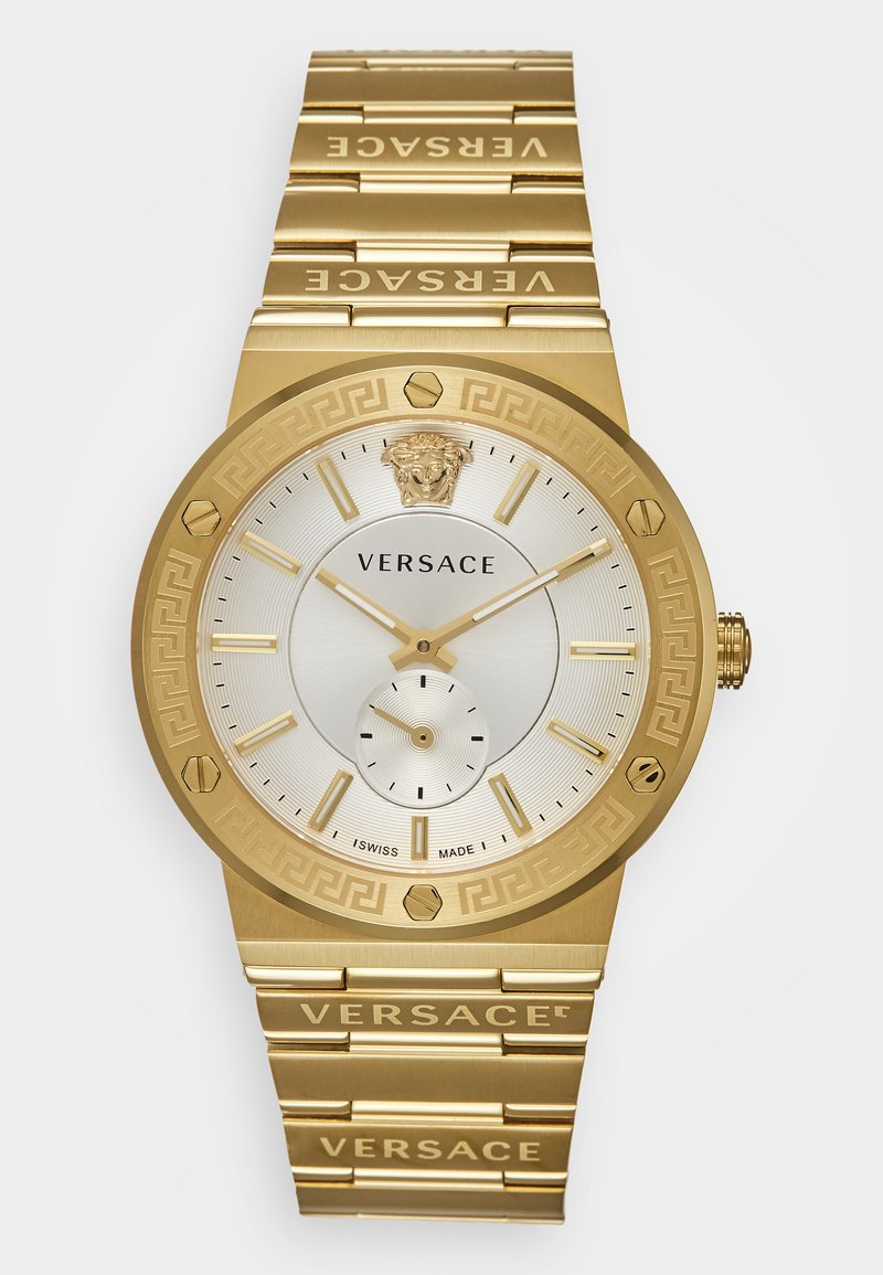 Versace Watches - GRECA LOGO - Zegarek - gold-coloured