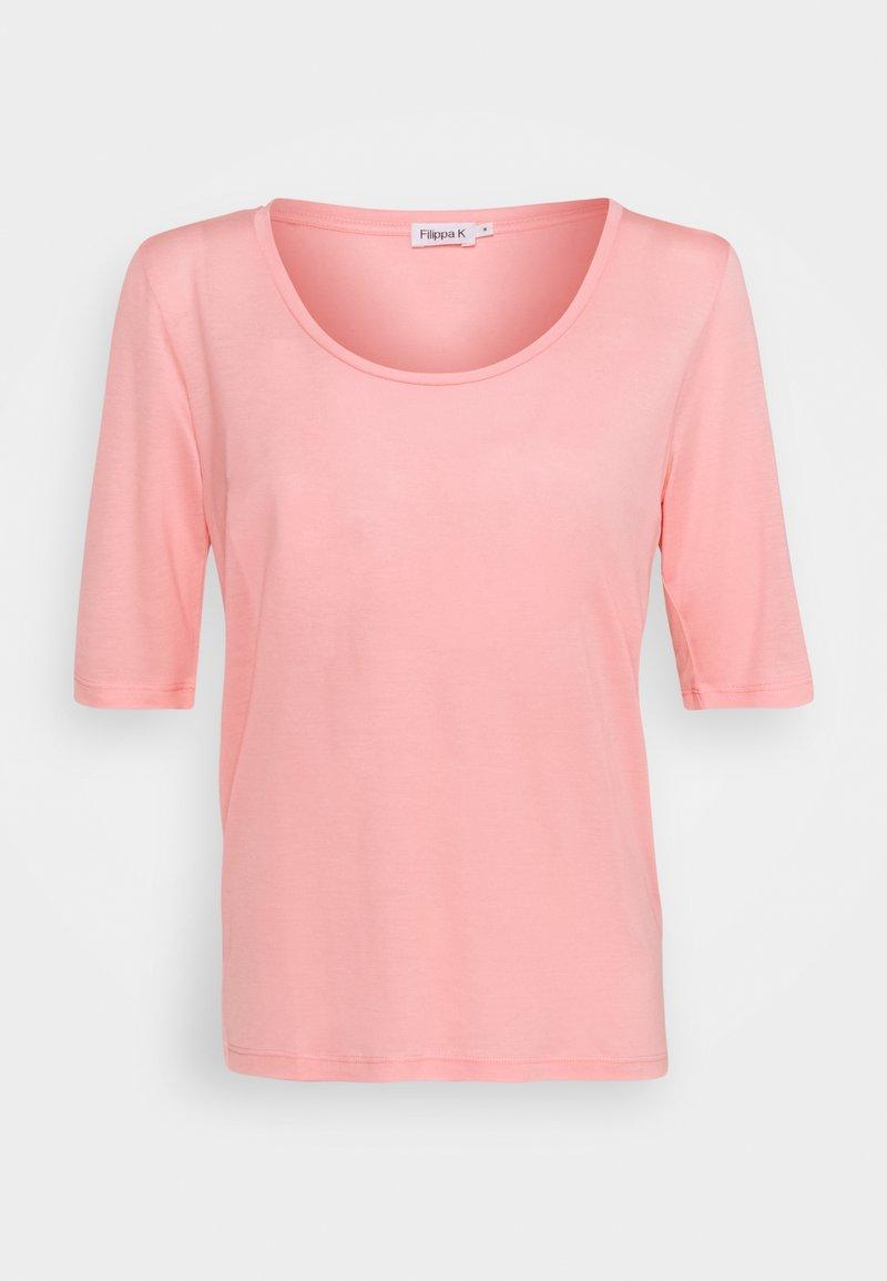 Filippa K - ELBOW SLEEVE - T-shirt basic - frosty pin