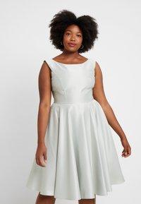 Swing Curve - Vestito elegante - whitegreen - 0