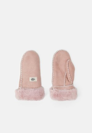 MITTEN WITH STITCH UNISEX - Wanten - pink cloud
