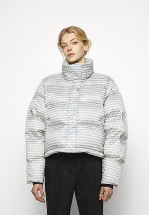 TISLEI PRINT JACKET - Down jacket - white