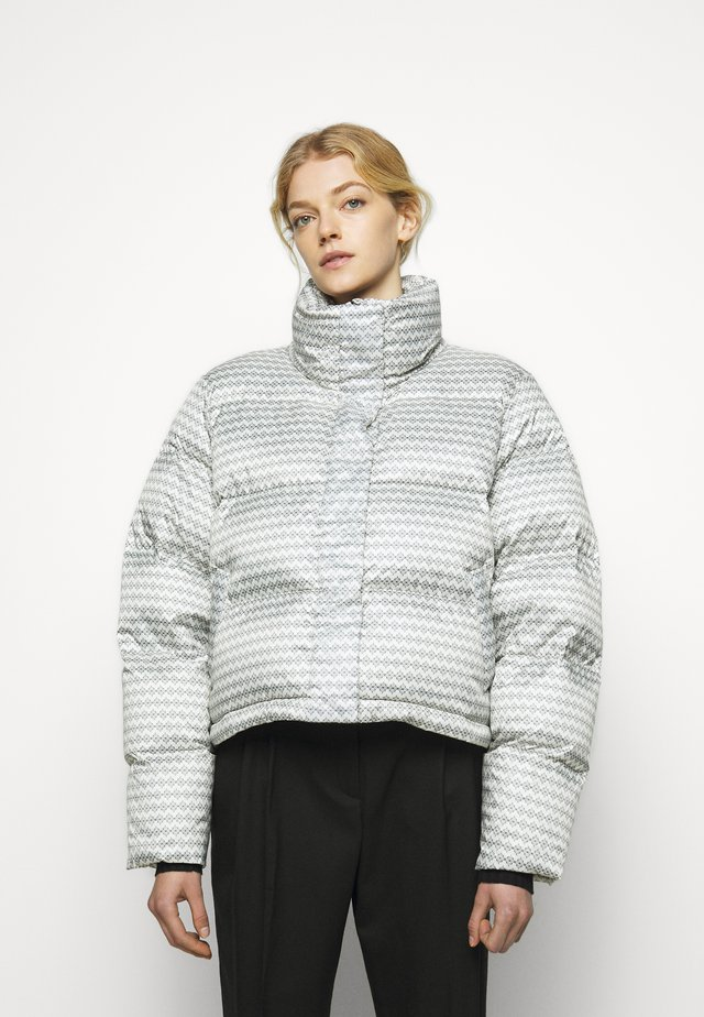 TISLEI PRINT - Down jacket - white
