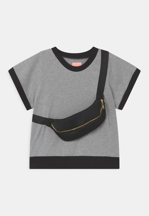 RAY UNISEX - Print T-shirt - grey