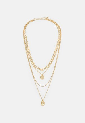 PCNAOMI COMBI NECKLACE - Necklace - gold-coloured