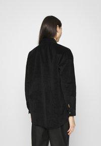 Noisy May - NMFLANNY LONG SHACKET - Summer jacket - black - 2