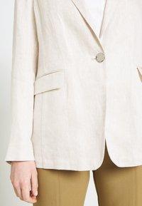 s.Oliver BLACK LABEL - LANGARM - Short coat - beige - 5