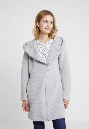Kort kåpe / frakk - grey melange