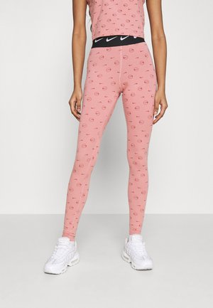 PRINT PACK - Legging - rust pink/canyon rust