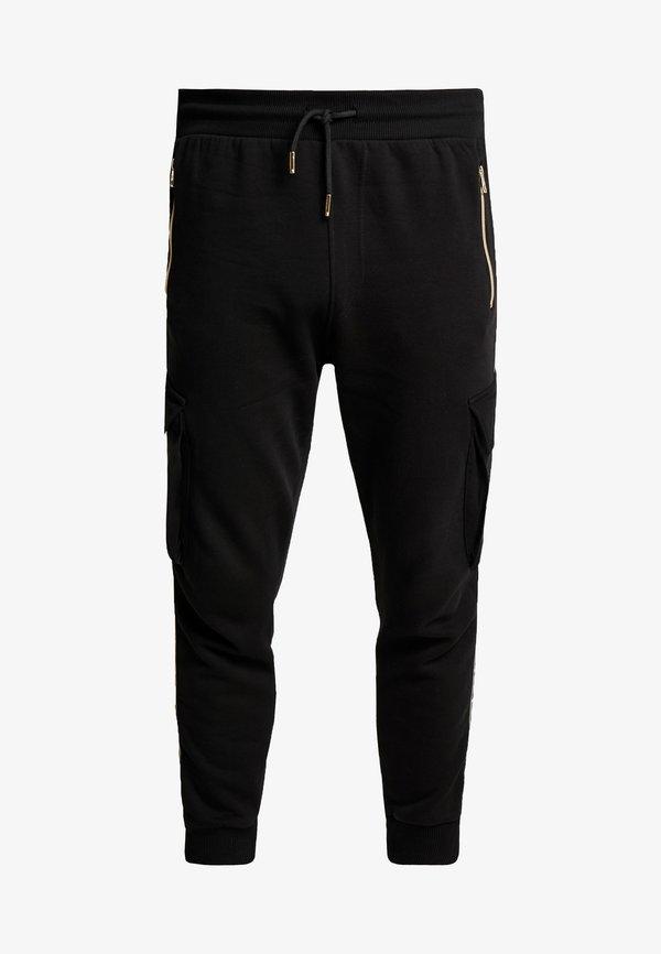 Glorious Gangsta ALPHA JOGGER - Spodnie treningowe - black/czarny Odzież Męska UZIW