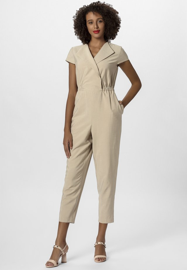 Overall / Jumpsuit - nude