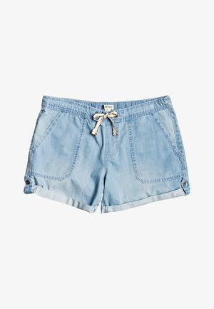 MILADY  - Denim shorts - light blue