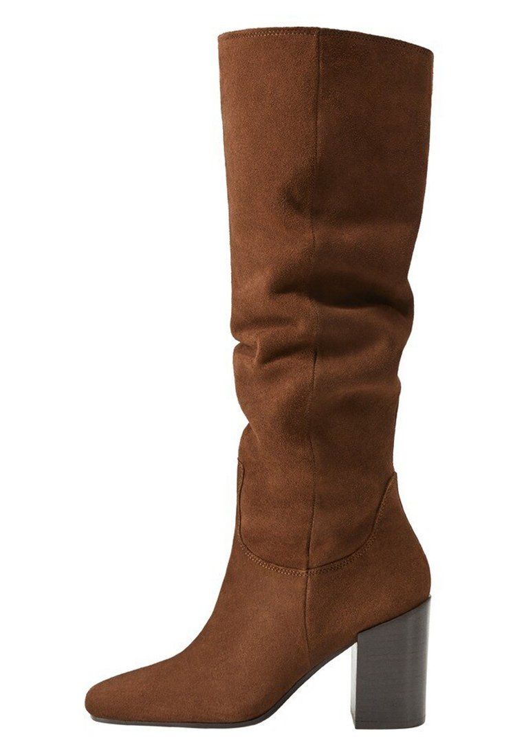 Mango Week - High Heel Stiefel Chocolate/braun