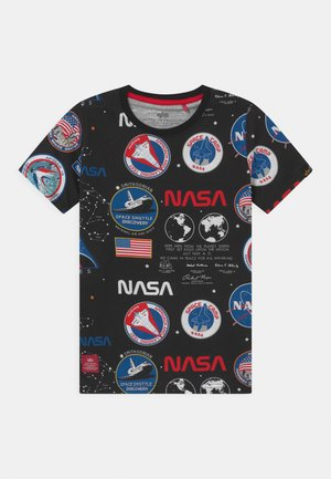 NASA  - T-shirt z nadrukiem - black