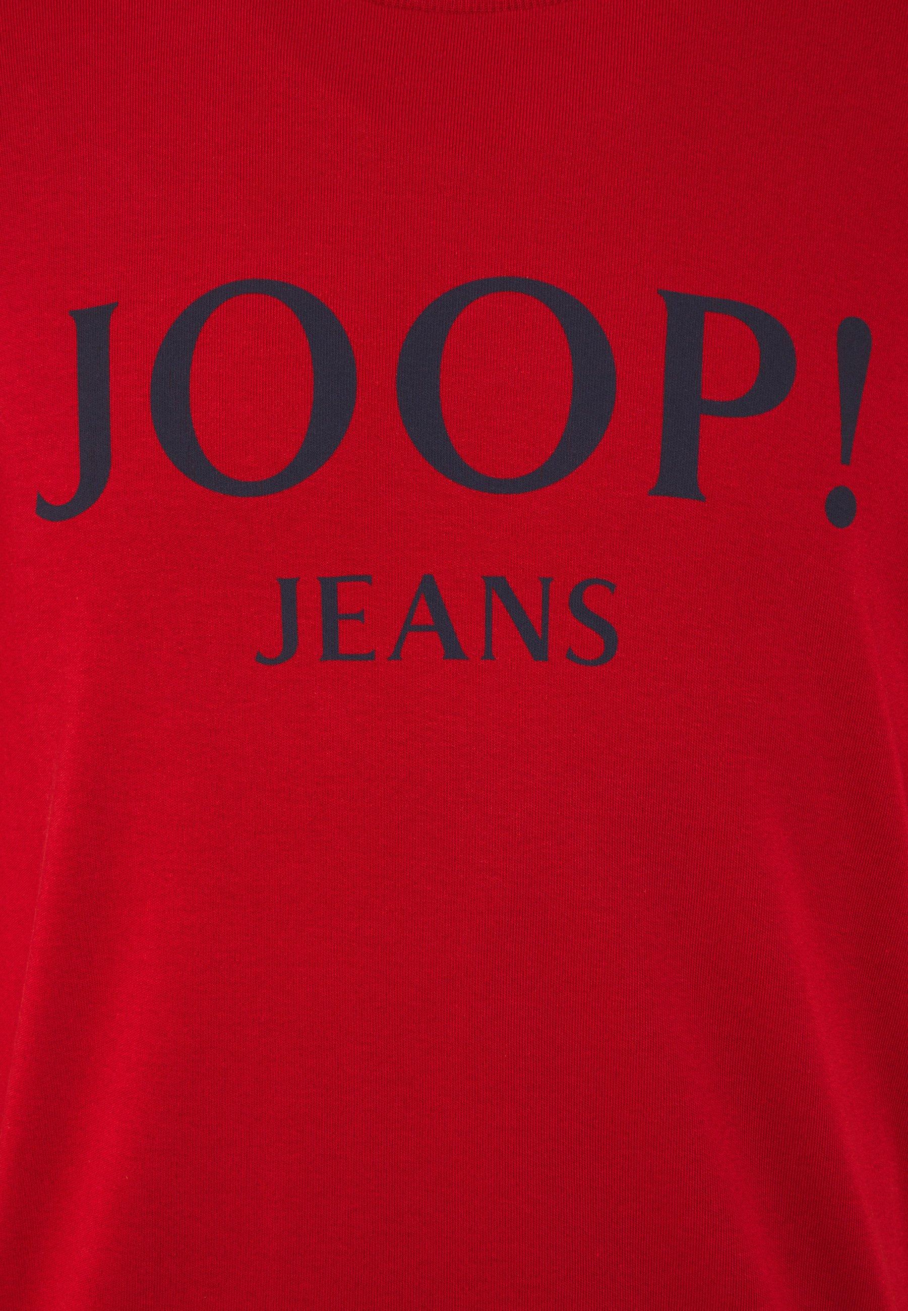 JOOP! Jeans ALFRED - Long sleeved top - medium red CPFsG