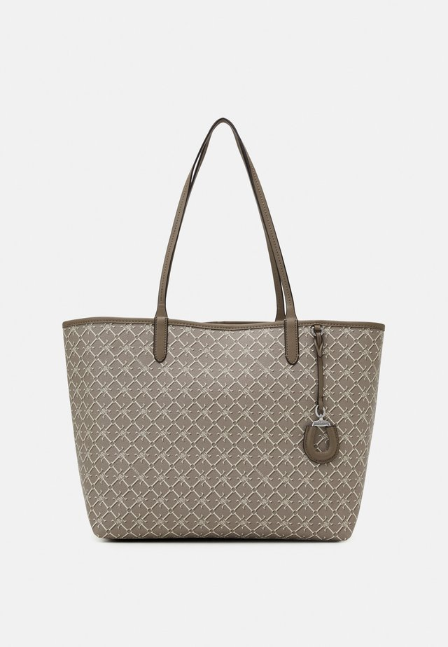 COATED COLLINS - Tote bag - taupe
