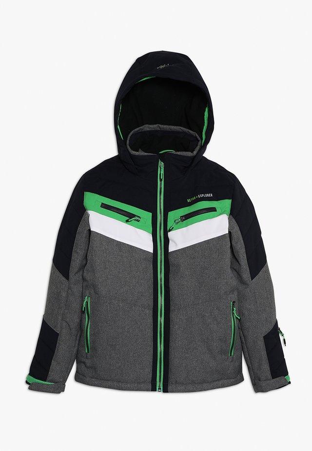 POLK - Ski jacket - grau melange