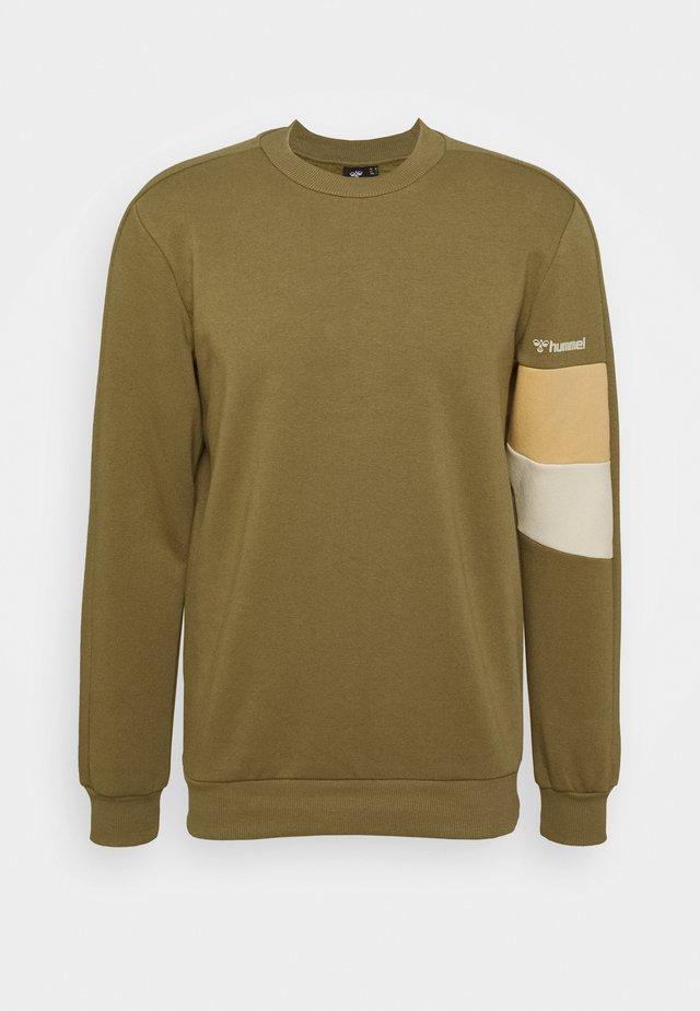HMLAIDAN - Sweater - burnt olive