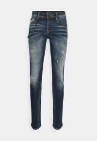 Antony Morato - IGGY TAPERED FIT IN CROSS STRETCH - Slim fit jeans - blue denim - 0