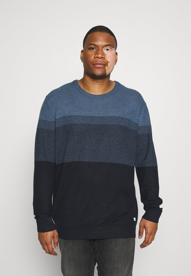 JJJEANS CREW NECK - Pullover - ensign blue