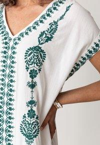 Indiska - BORA BORA - Robe d'été - white - 3