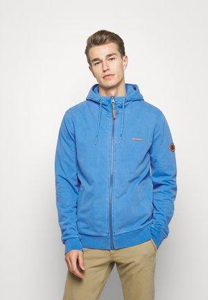 TAEN ZIP - Zip-up hoodie - blue