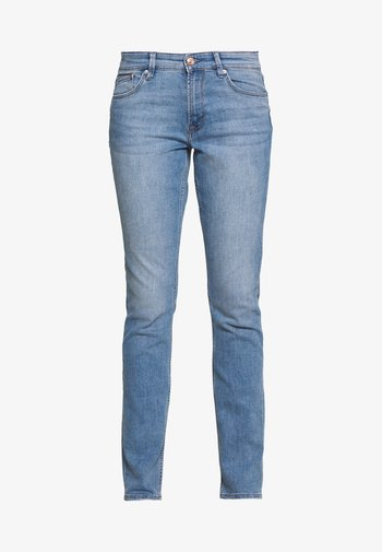 LANG - Slim fit -farkut - middle blue