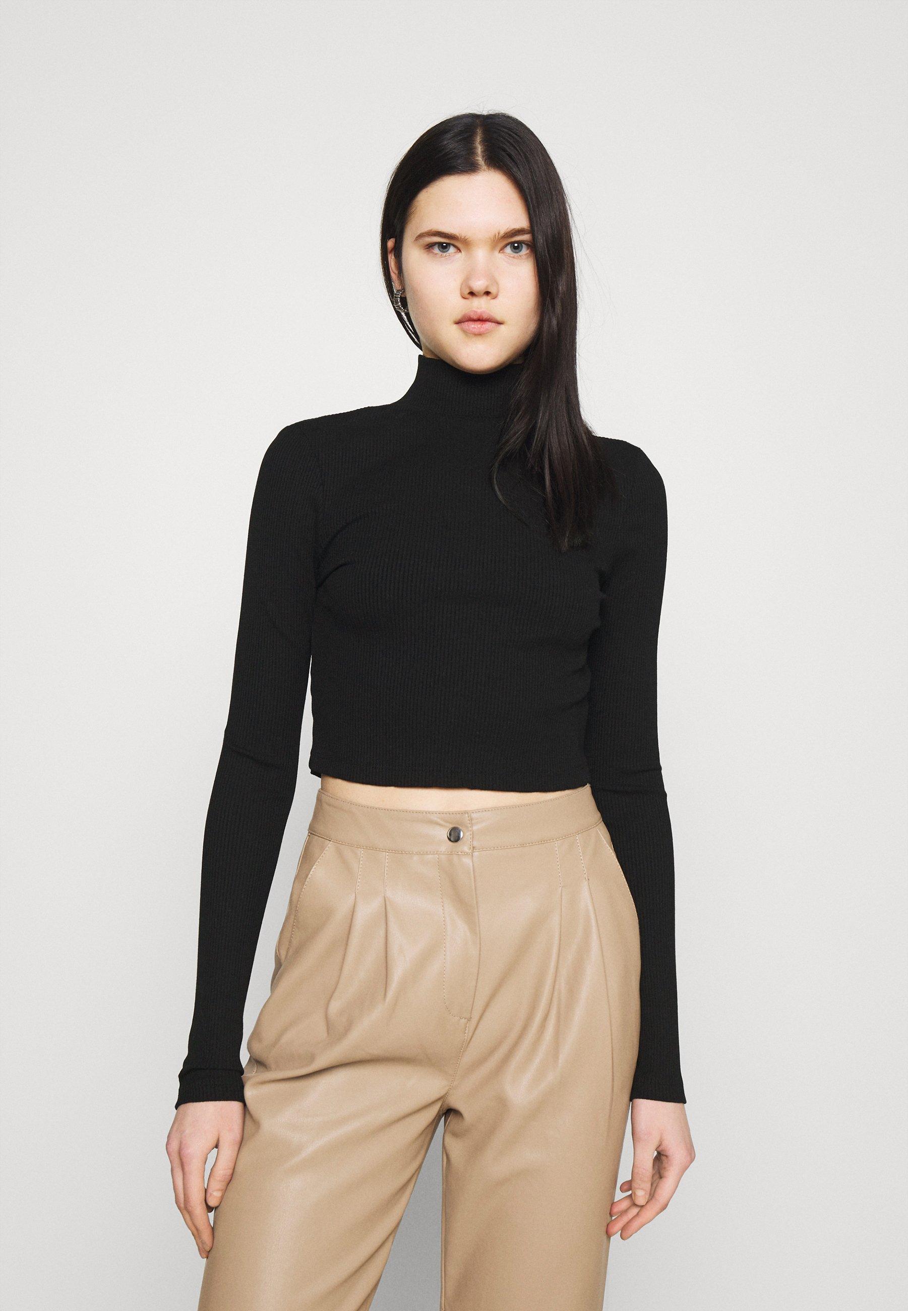 Women OPEN BACK KNOT DETAIL - Long sleeved top