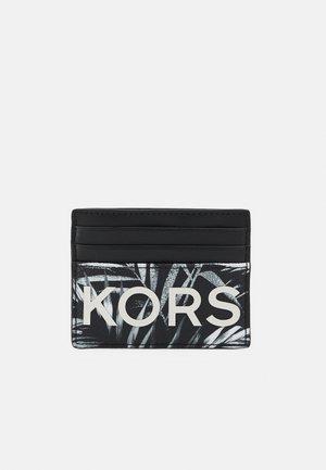 TALL CARD CASE UNISEX - Plånbok - black/white