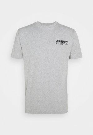 AARHUS  - Camiseta estampada - grey melange
