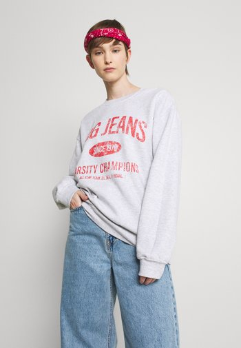 PRINTED - Sweatshirt - grey