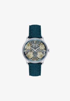 UHR MORRIS & CO SILVER INDIGO PERLON 30MM - Horloge - indigo