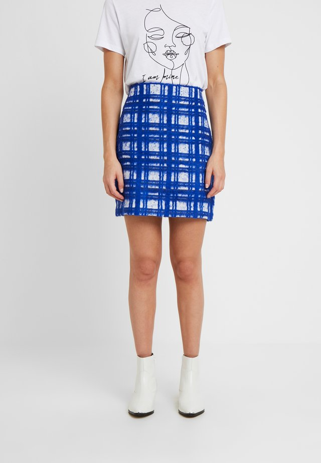 SALLY - A-line skirt - royal blue