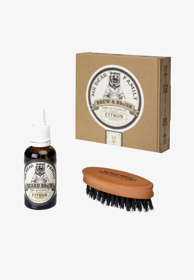 BREW & BRUSH - Scheerset - citrus