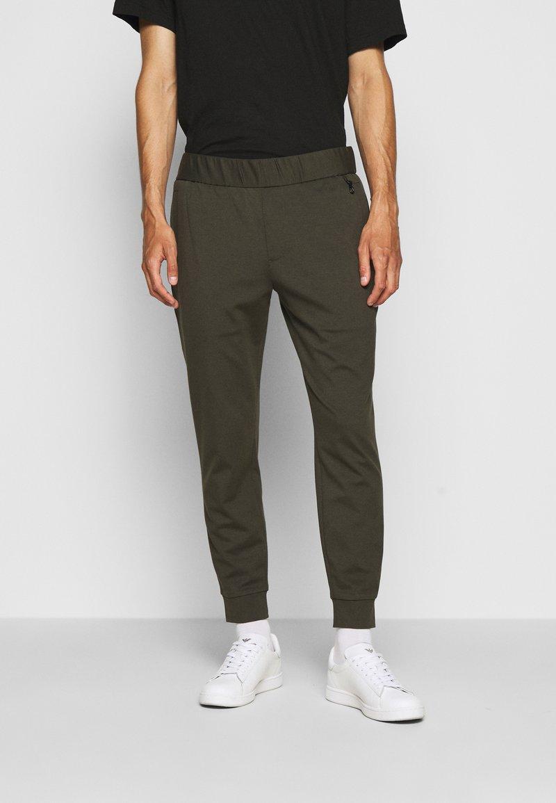 Emporio Armani - JEZZ - Trousers - dark green