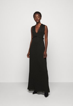 ABITO LUNGOSENZA MANICHE - Robe de cocktail - black