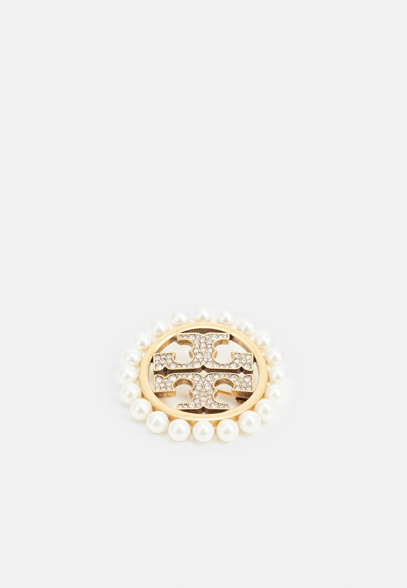 Tory Burch - MILLER PAVE PEARL BROOCH - Other - gold-coloured