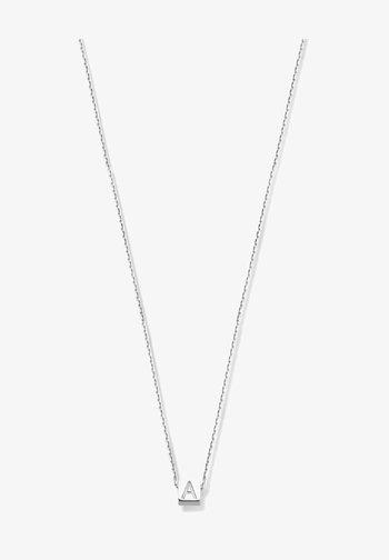 Necklace - weißgold