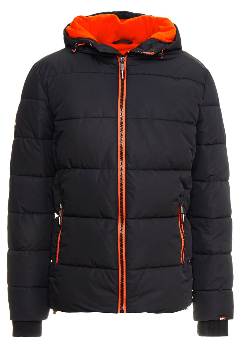 Superdry - SPORTS PUFFER - Winterjas - jet black