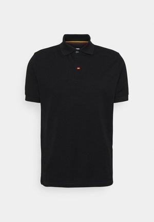 CHARM BUTTON - Poloshirt - black