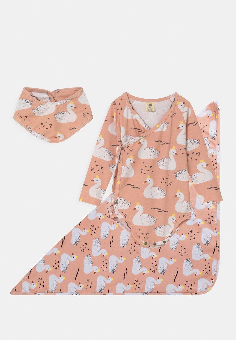 Walkiddy - GIFT PRINCESS SWANS SET - Long sleeved top - pink