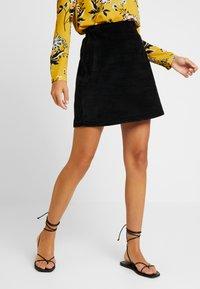 New Look - WELT SKIRT - Falda de tubo - black - 0
