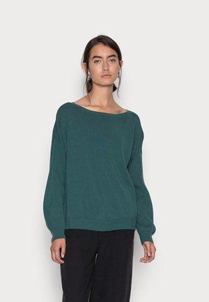 ONLPOPTESSA BOATNECK  - Jersey de punto - mallard green