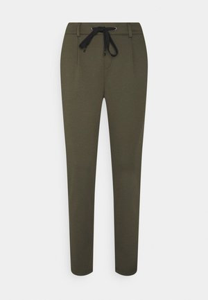 Tracksuit bottoms - khaki green