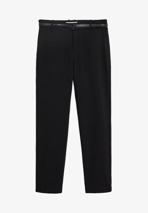 BOREAL6 - Oblekové kalhoty - black