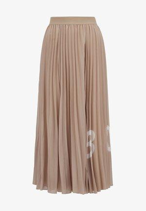 TIPLISSEE - Maxi skirt - beige