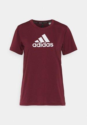 Print T-shirt - victory crimson/white