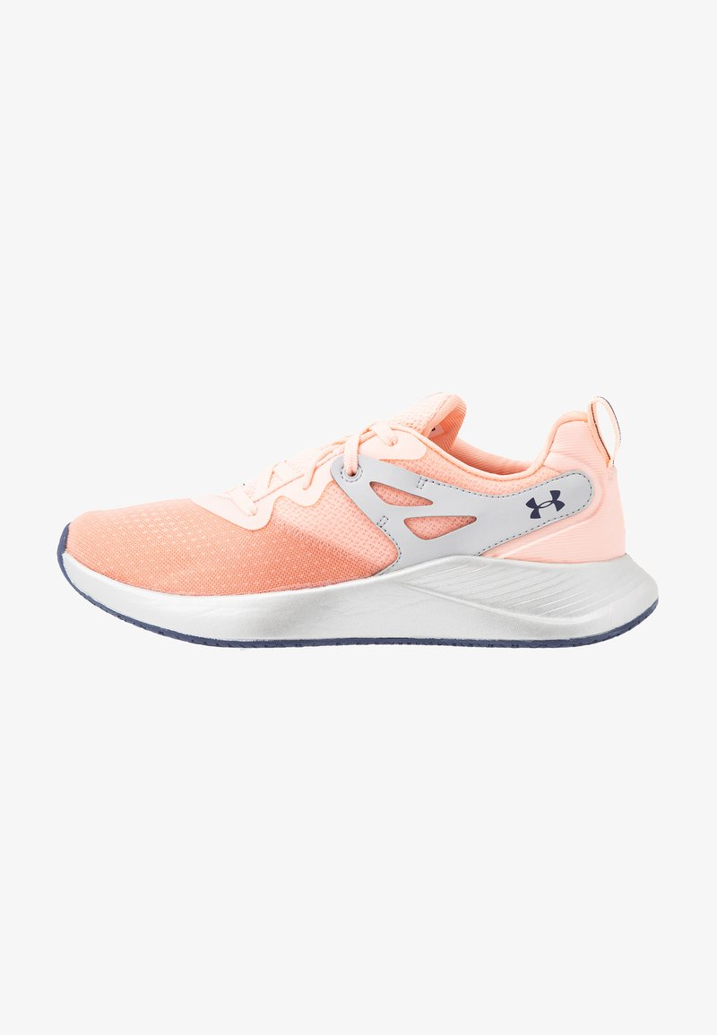 Under Armour - CHARGED BREATHE TR 2 - Sportovní boty - peach frost/halo gray/blue ink