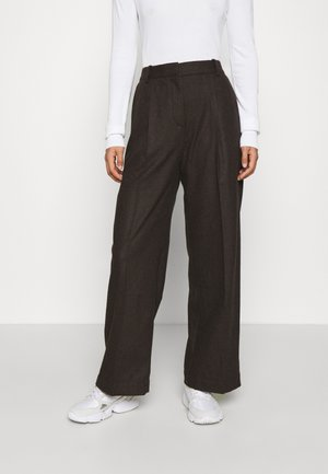 SOPHIE TROUSERS - Pantalones - black