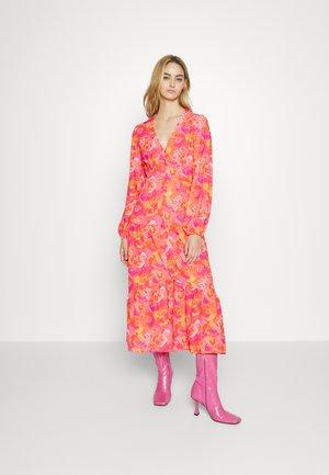 VIBRANT DRESS - Shirt dress - multicoloured